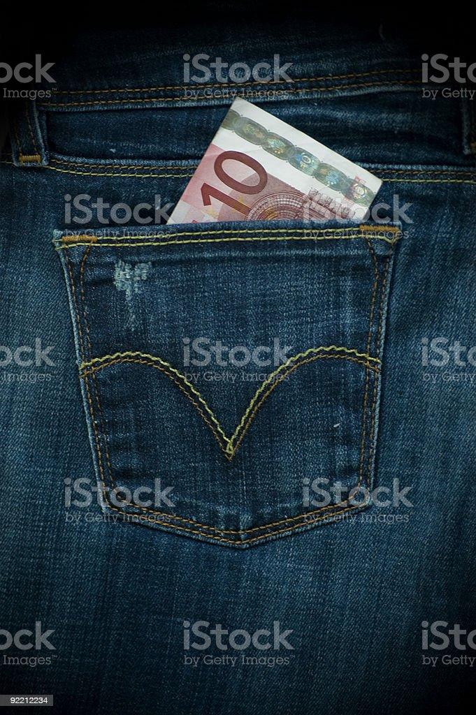 Geld in der Tasche! – Foto