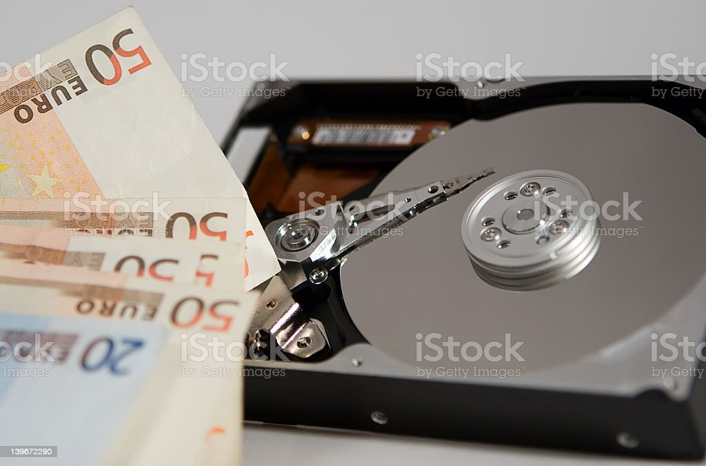 Money is in After Sales stock photo