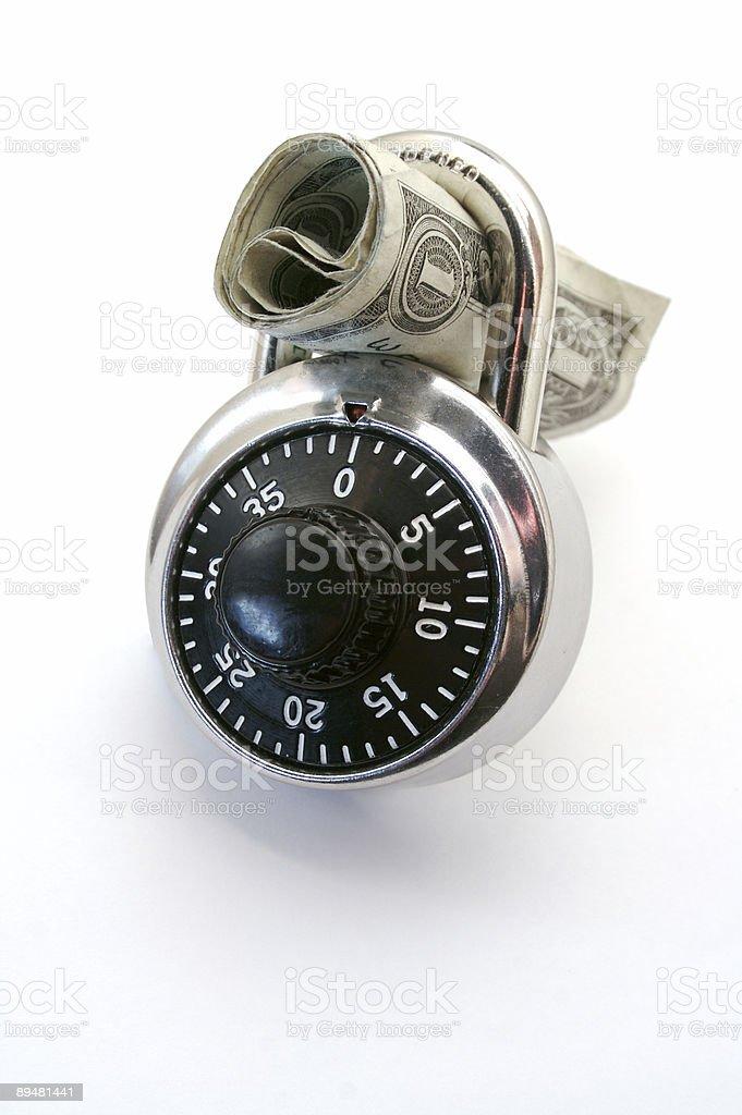 Money is safe stock photo