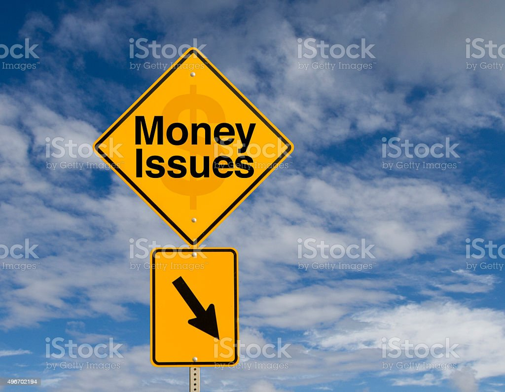 Money Issues stock photo