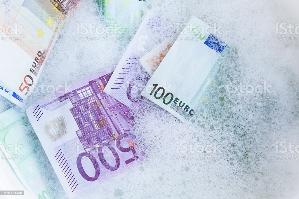 Money Laundering, Concept stock photo