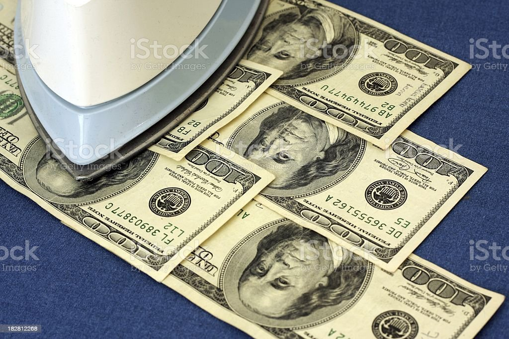 Money Laundering stock photo