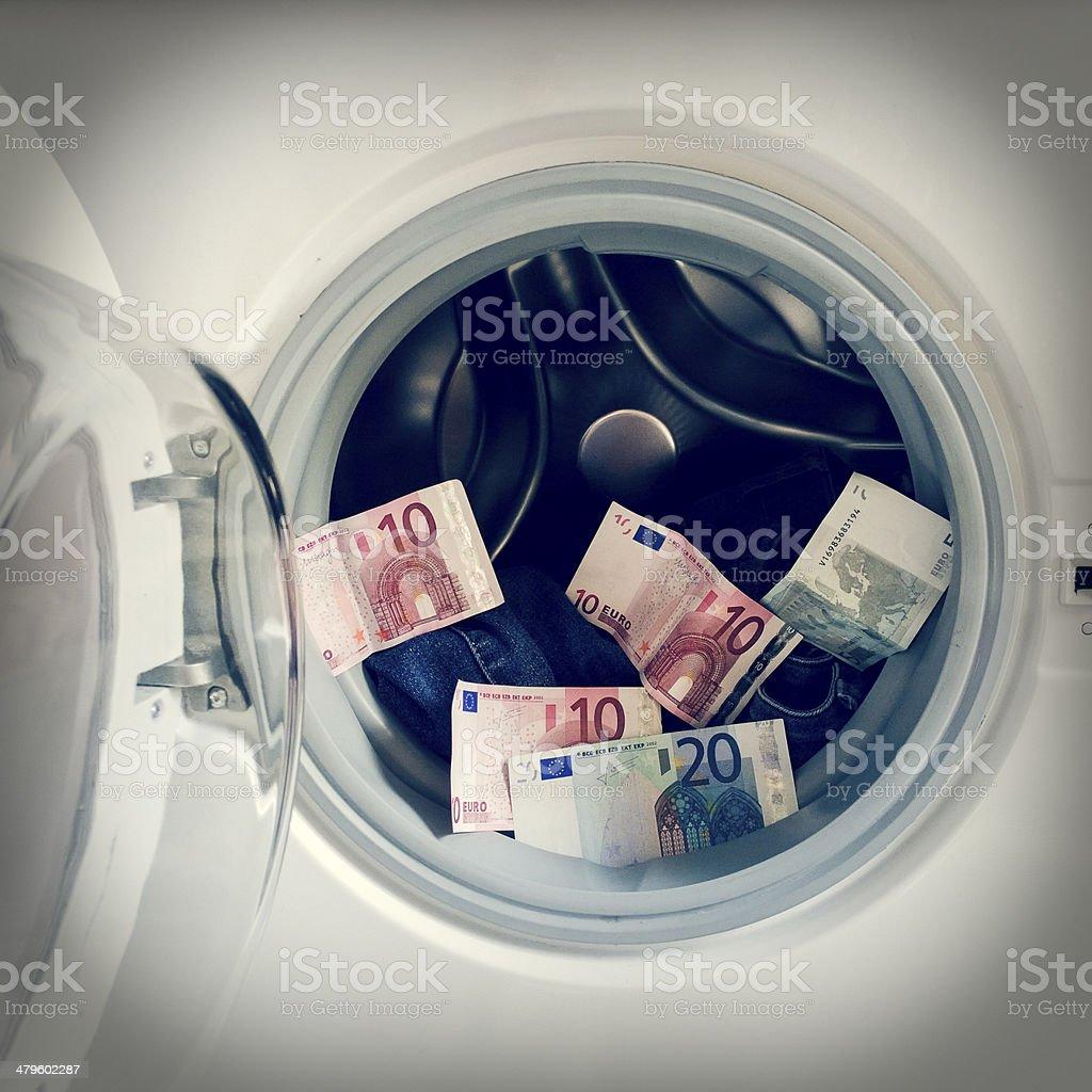 Geldwäsche mit retro-Effekt – Foto