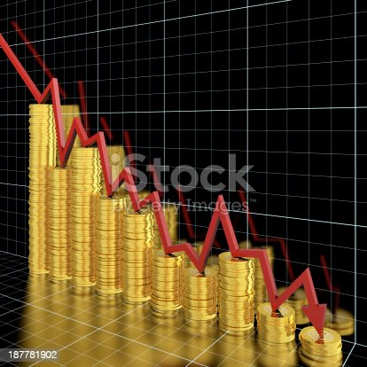 1039640896istockphoto Money loss 187781902
