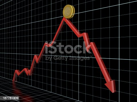 1039640896istockphoto Money loss 187781909