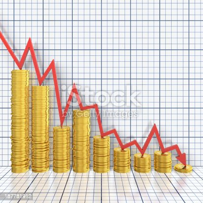 1039640896istockphoto Money loss 187781912