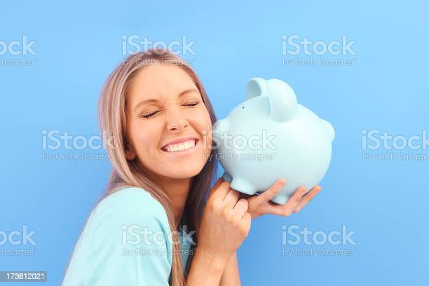 Money Loves Me Stock Photo - Download Image Now