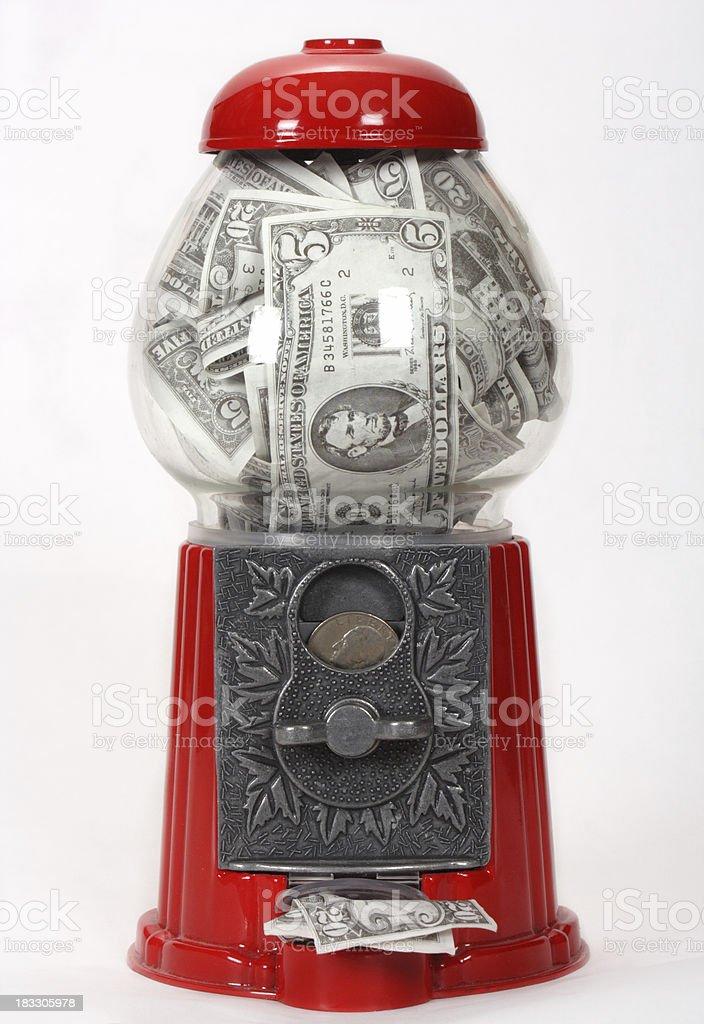 Money Machine stock photo