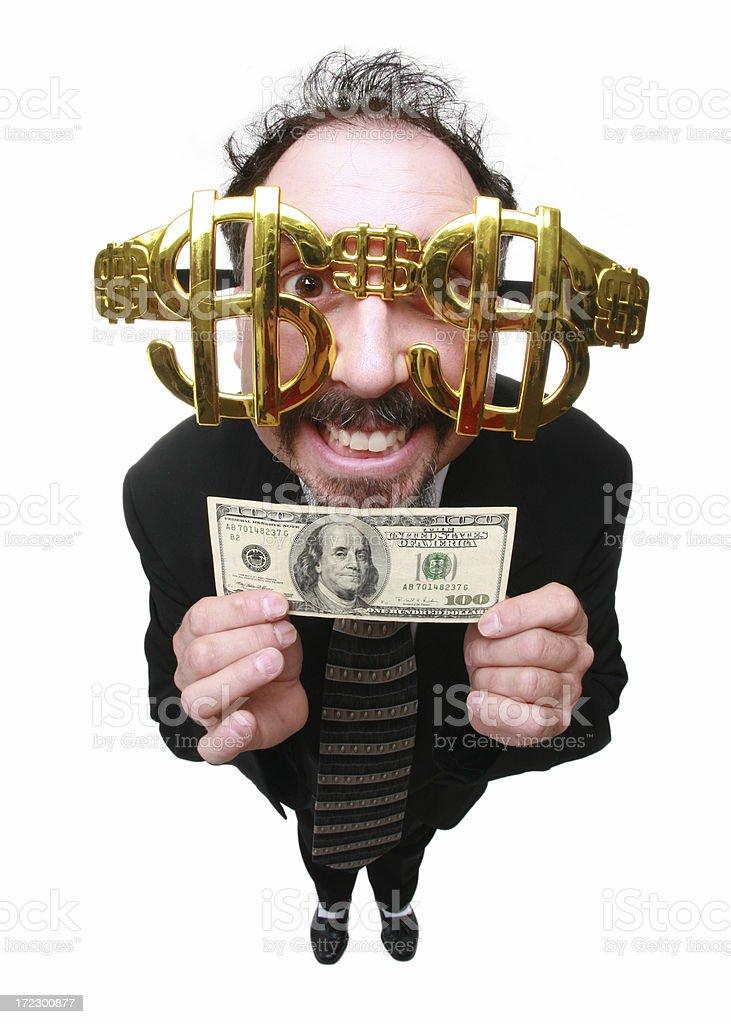 Money Man royalty-free stock photo