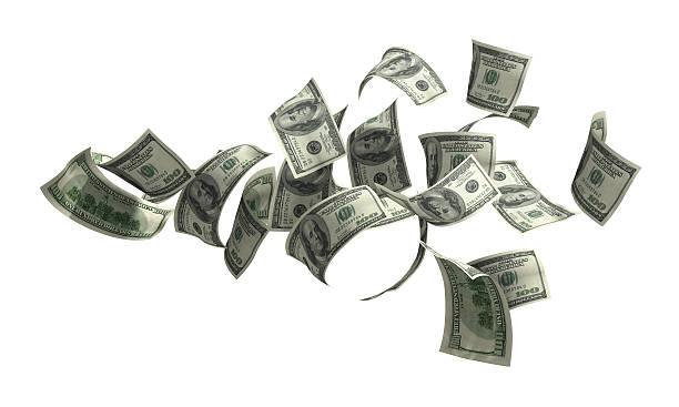 geld auf weiß - sterntaler stock-fotos und bilder