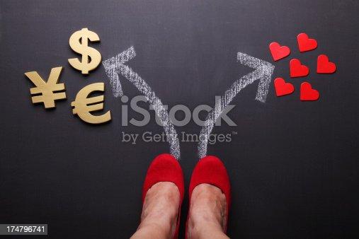 istock Money or Love 174796741