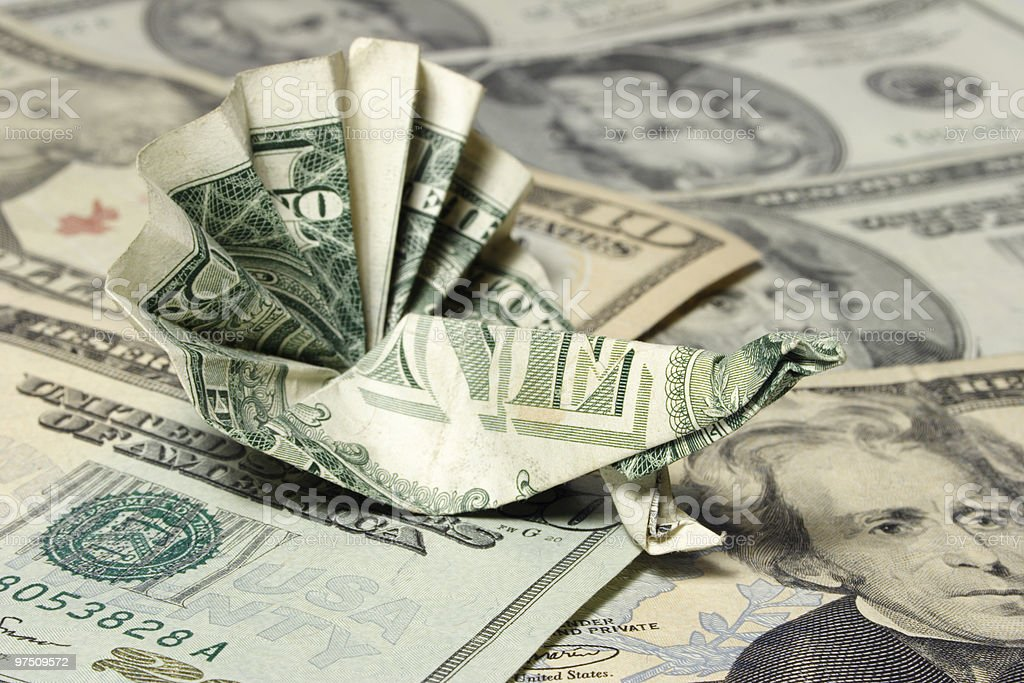 Money Peacock royalty-free stock photo