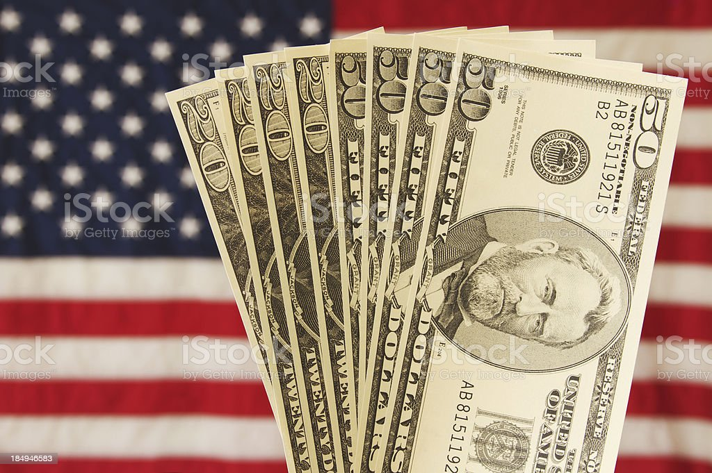 USA Money stock photo