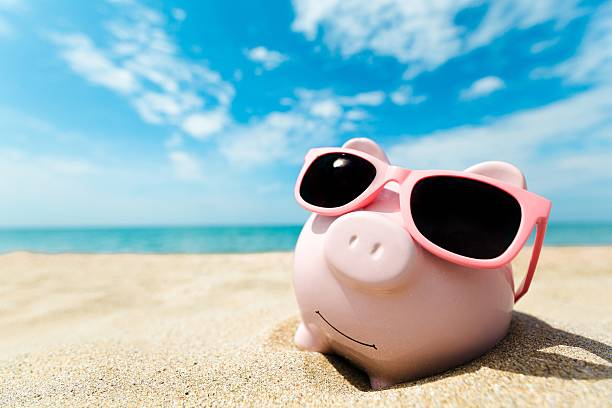 money - piggy bank stock photos and pictures