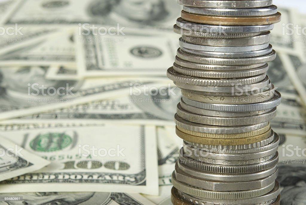 돈을 - 로열티 프리 0명 스톡 사진