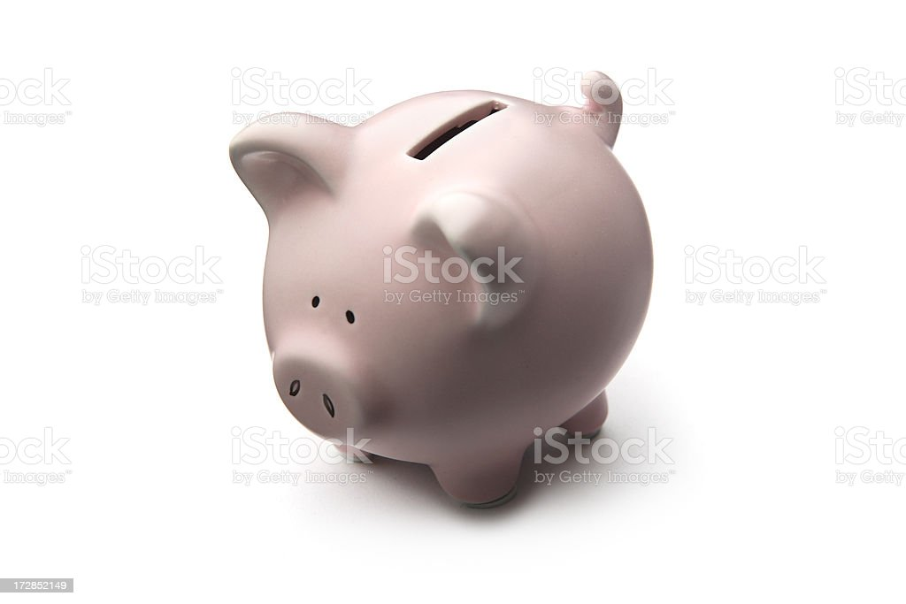 Money: Piggy Bank royalty-free stock photo