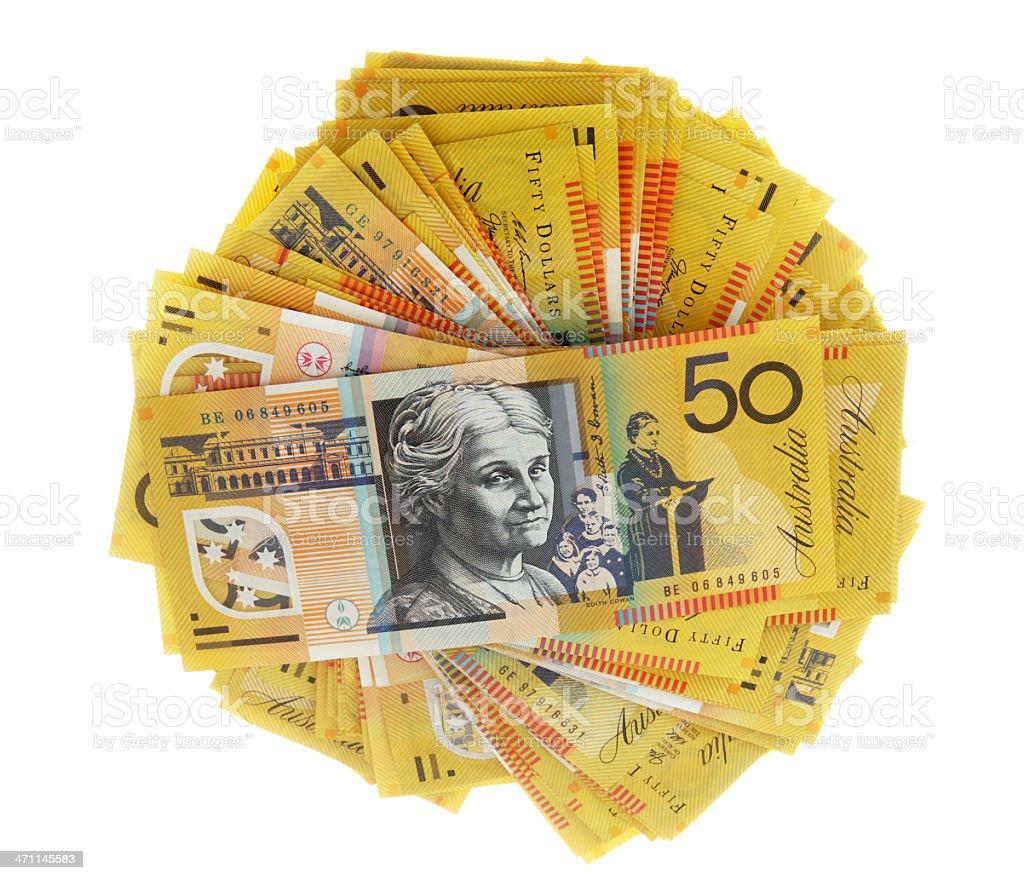 Money Pile royalty-free stock photo