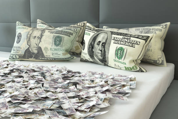 Image result for pillow money stock image