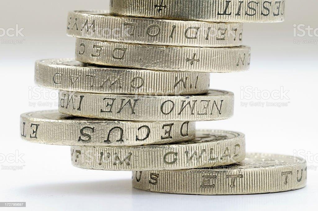 Money pound sterling royalty-free stock photo