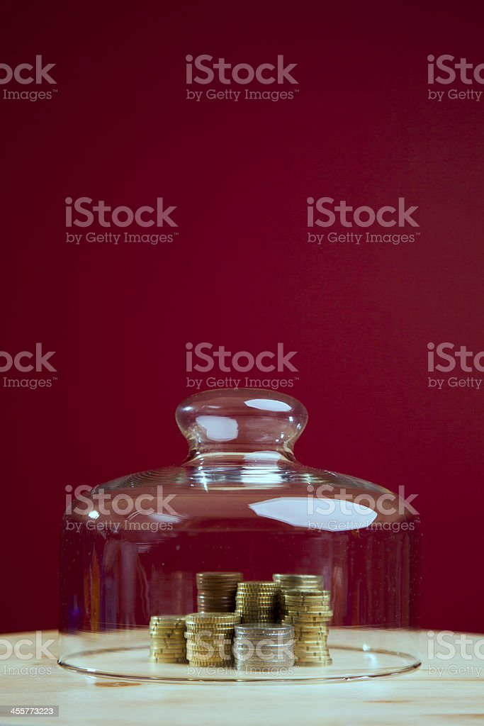 Money protection royalty-free stock photo