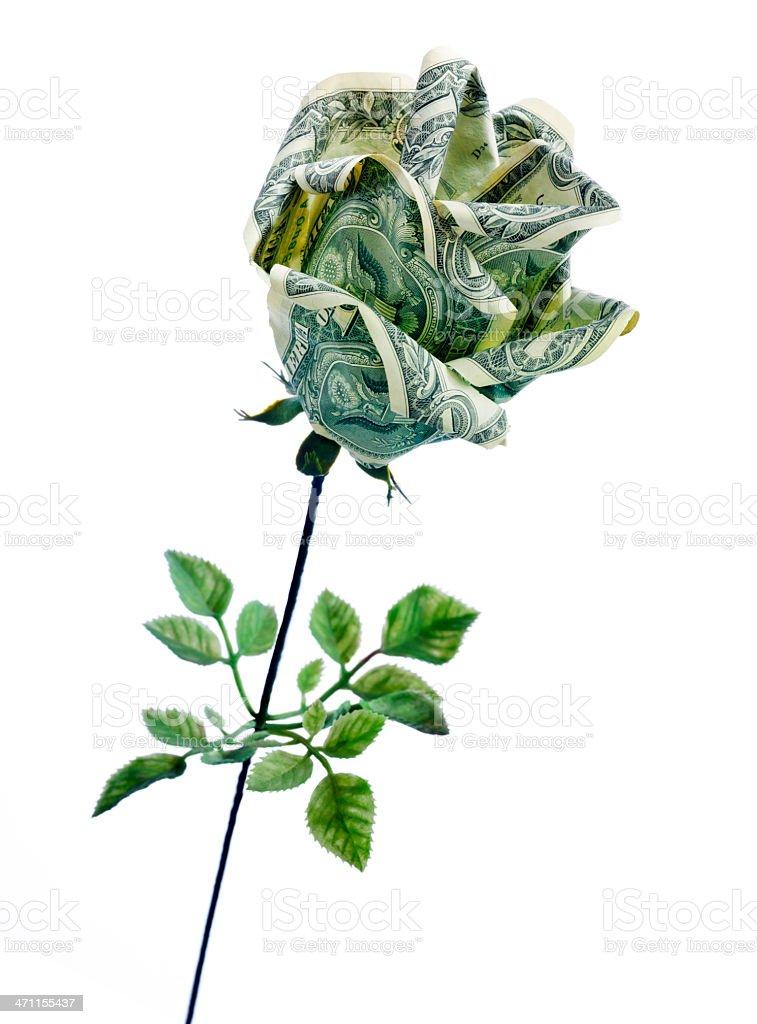 Money Rose Origami flower 10 real $1 bills Graduation holiday ... | 1024x757