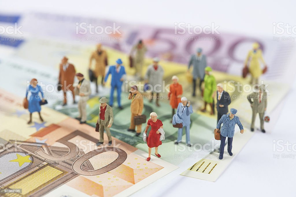 money rules the world royalty-free stock photo