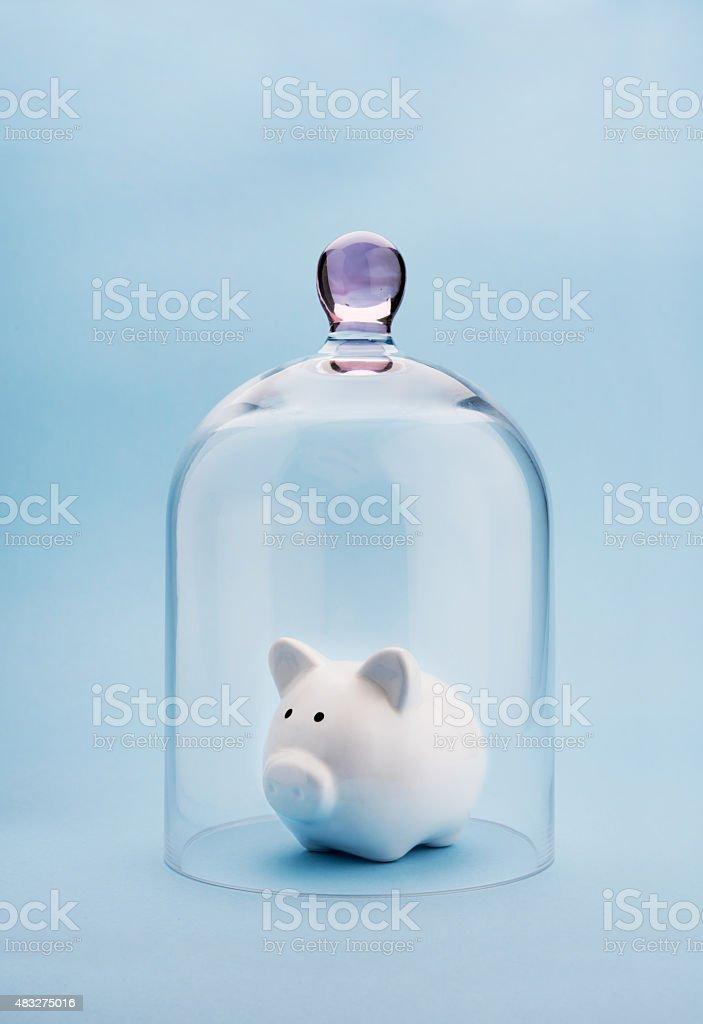 Money safety stock photo