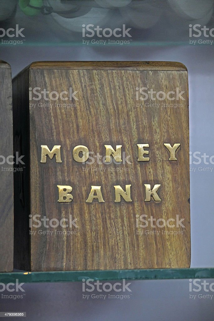 Money Saving Box, Money Bank stock photo