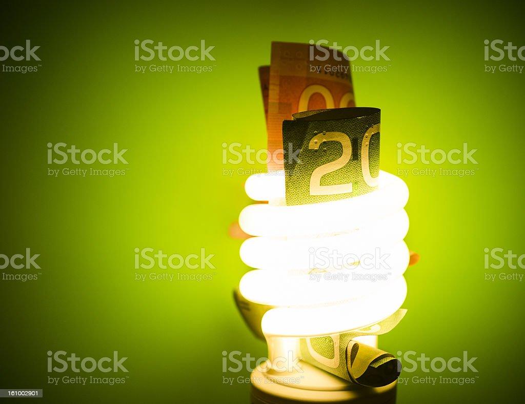 Money saving concept royalty-free stock photo