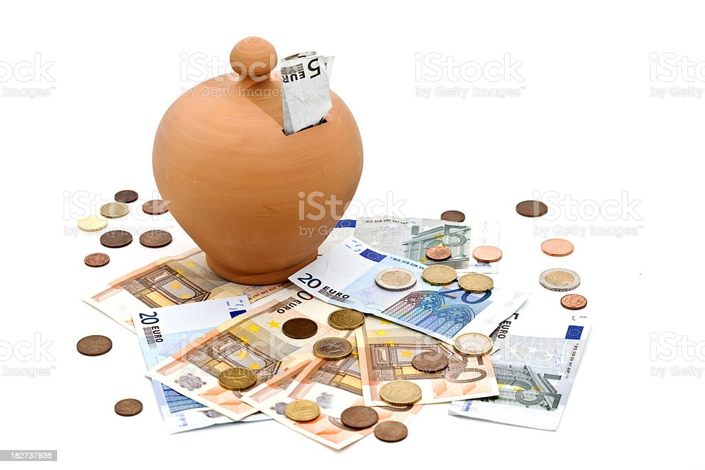 money saving royalty-free stock photo