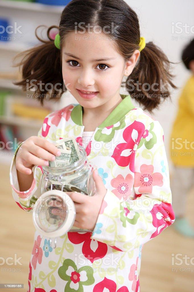 Money saving tips royalty-free stock photo