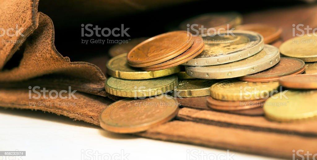 Money savings banner stock photo