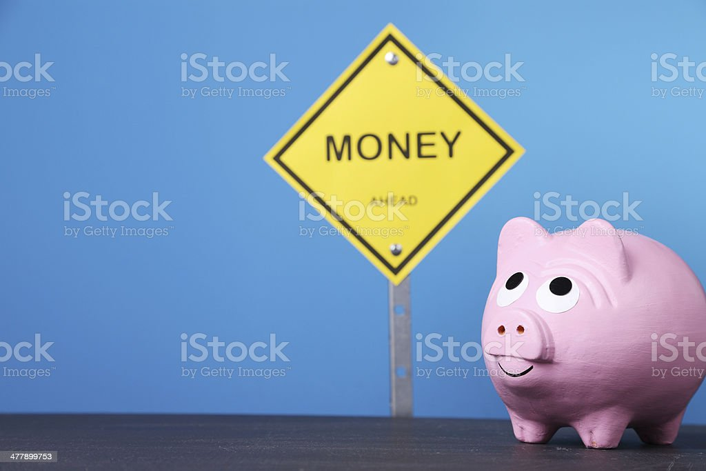 Money Sign royalty-free stock photo