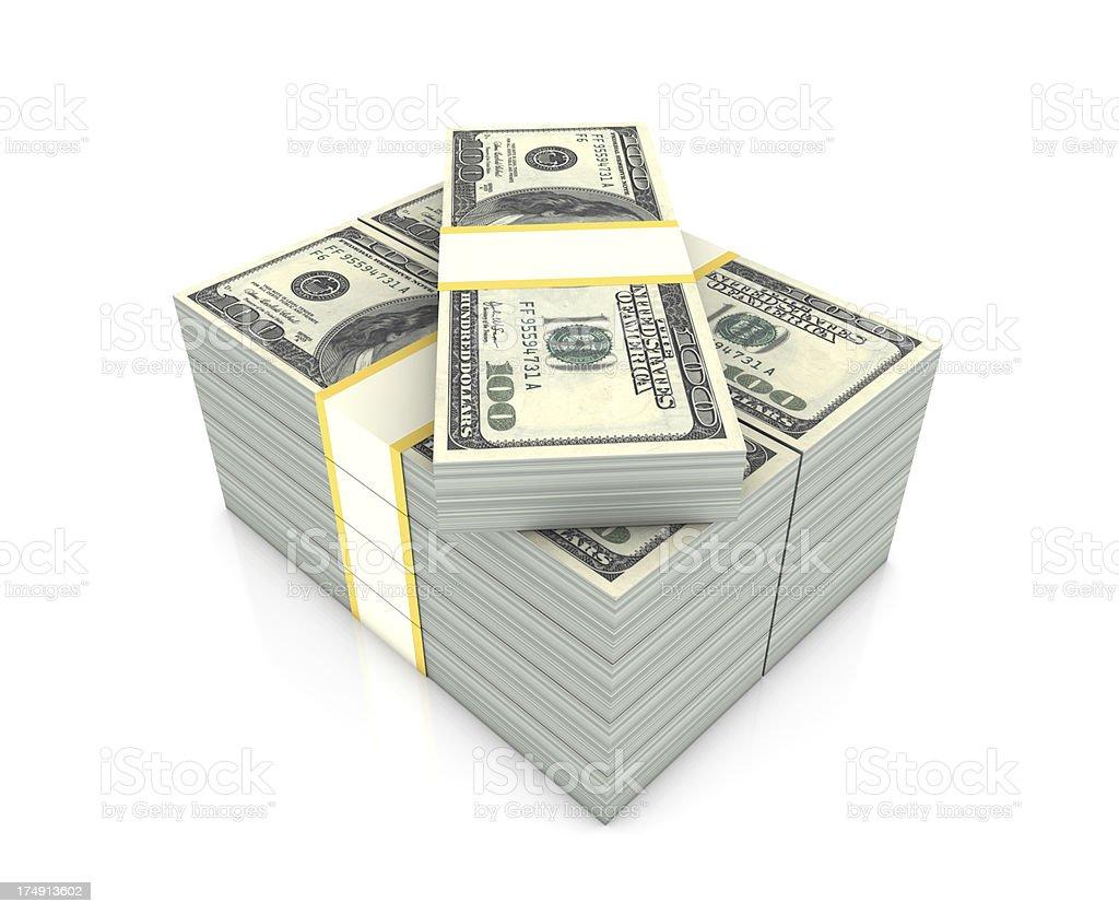 Money Stack royalty-free stock photo