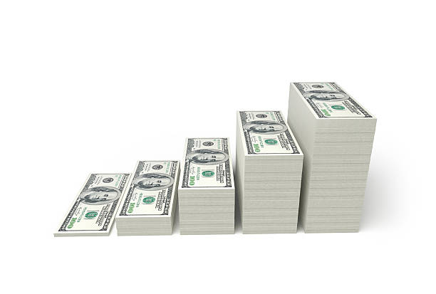 money stacks - stack stock pictures, royalty-free photos & images