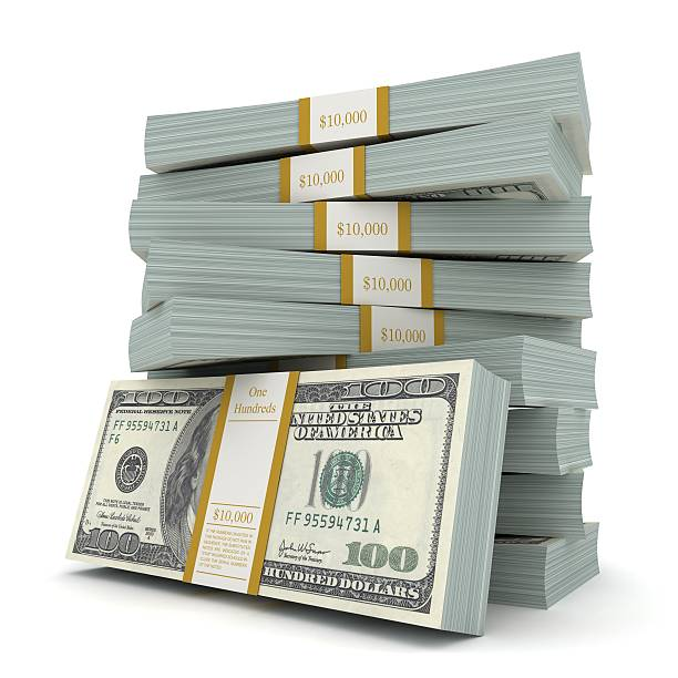 money stacks - coin stock photos and pictures