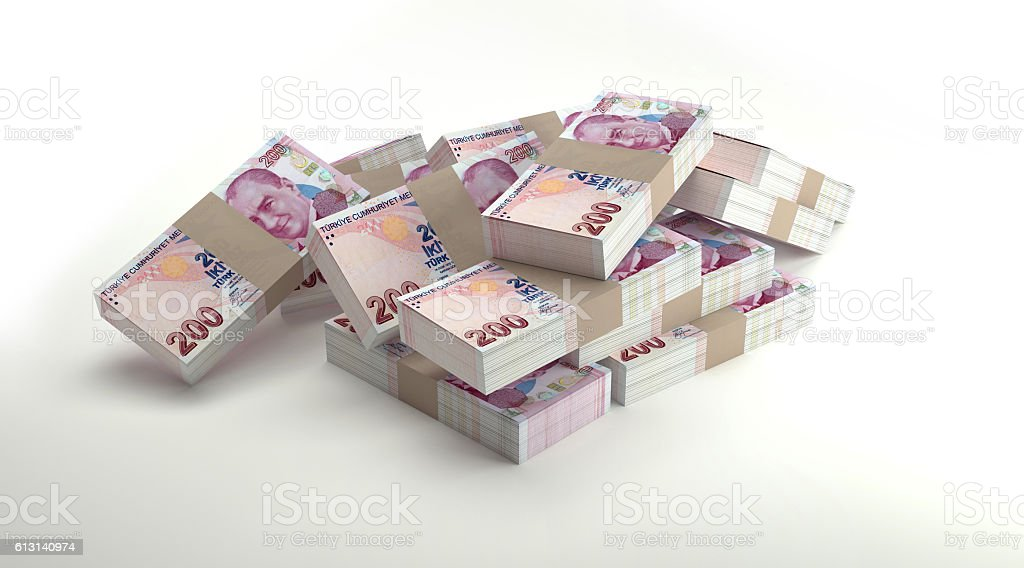 Money Stacks. stock photo