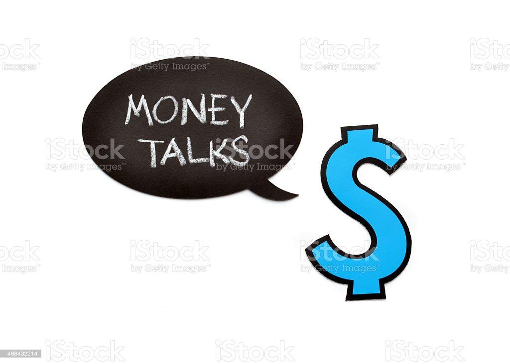 Money Talks stock photo