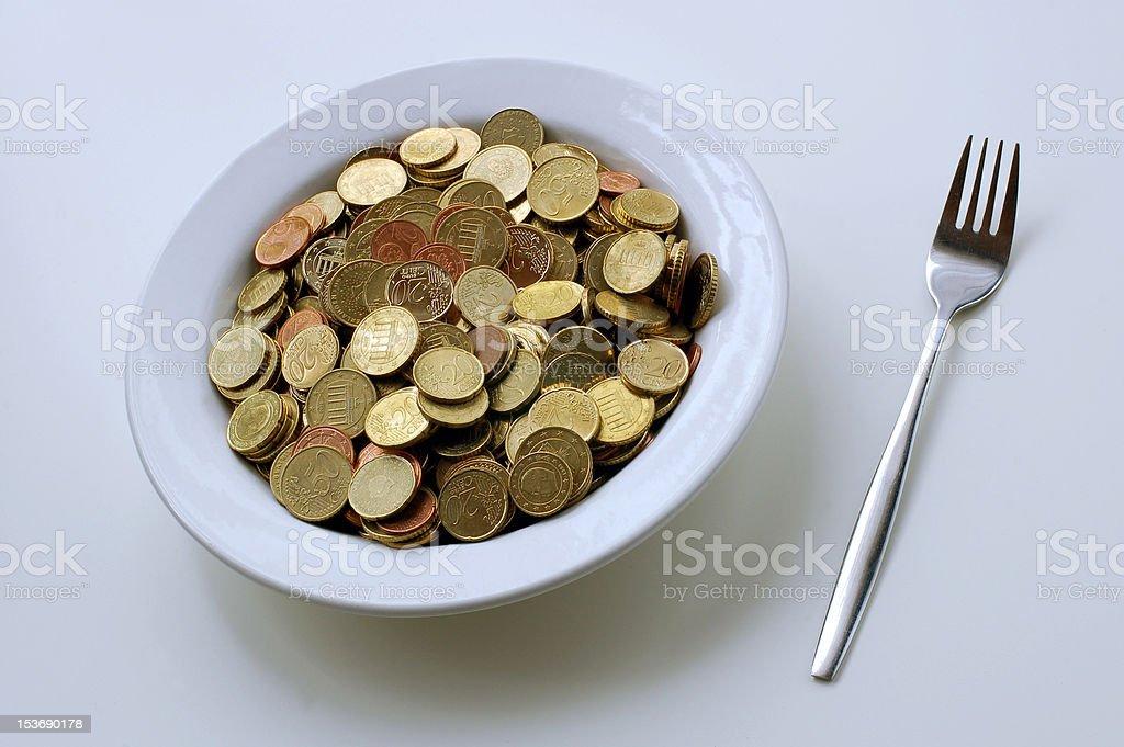 Geld zu essen – Foto