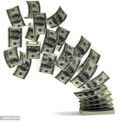 istock money transfer 3d concept 500323905