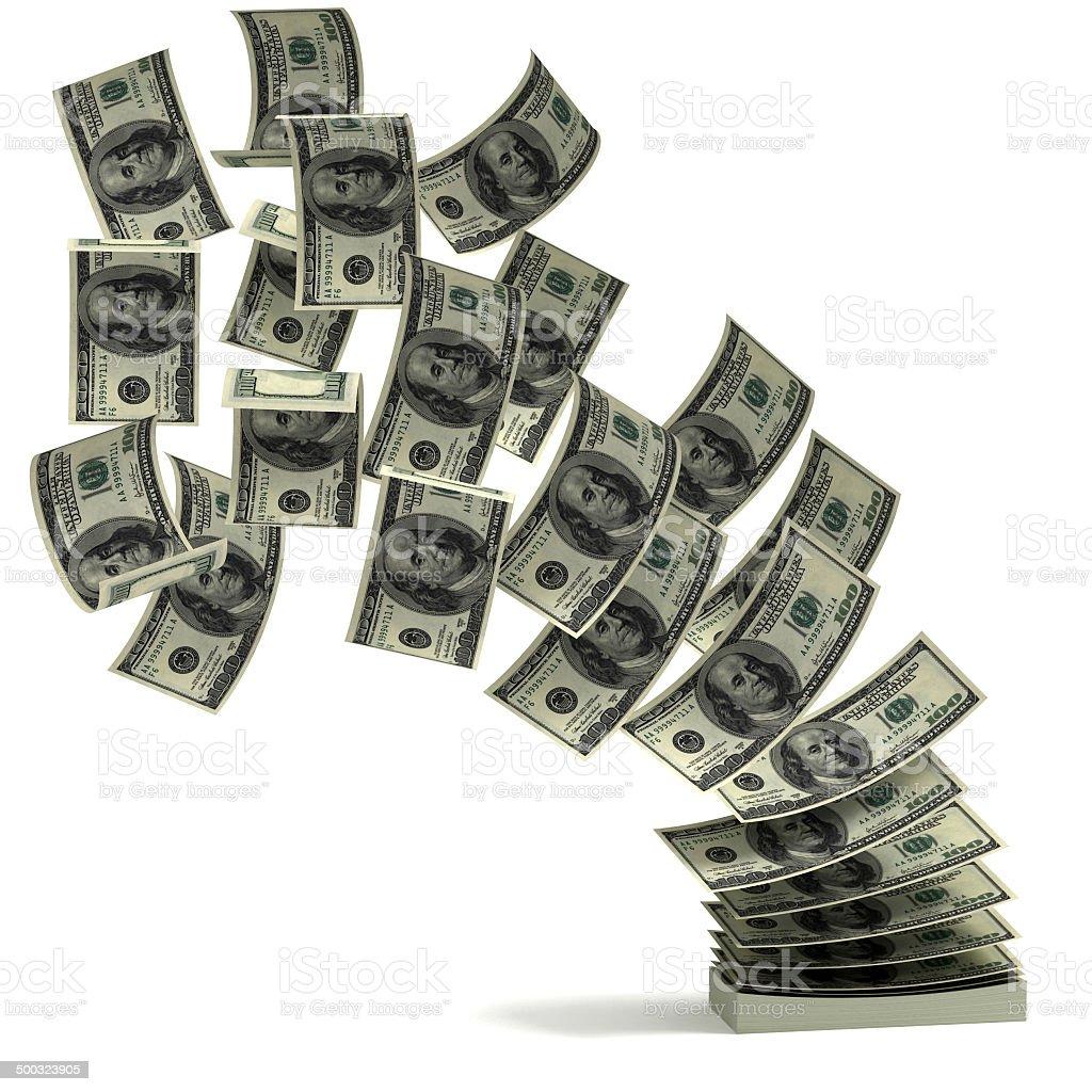 money transfer 3d concept stock photo