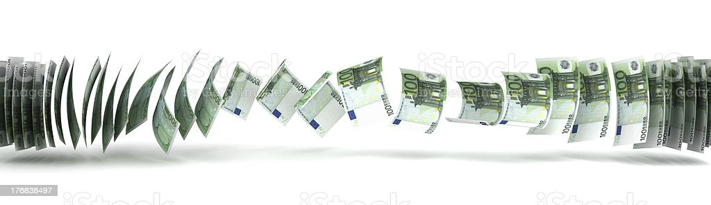 Money Transfer royalty-free stock photo