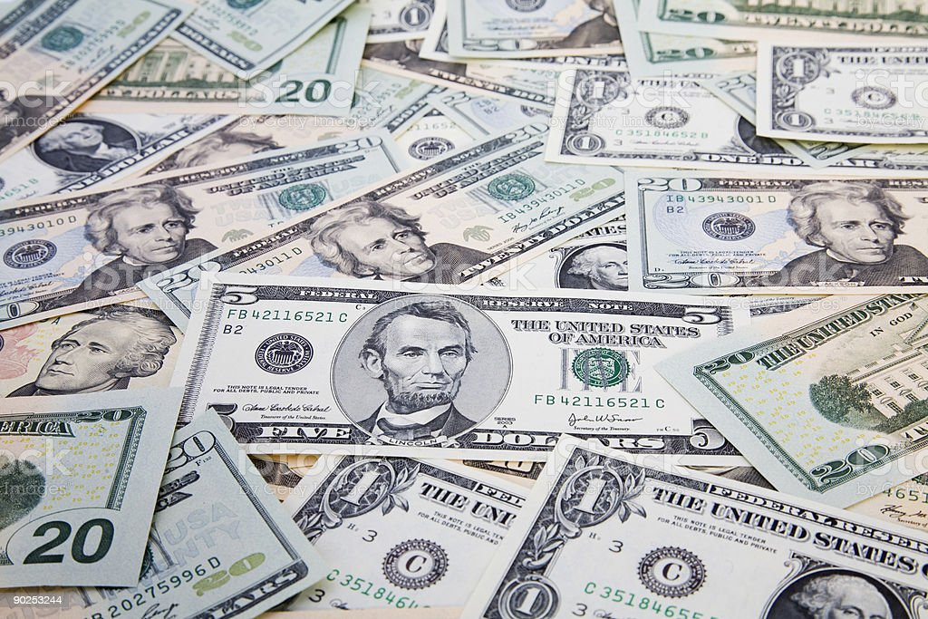 Money Us Dollar Notes Stock Photo - Download Image Now