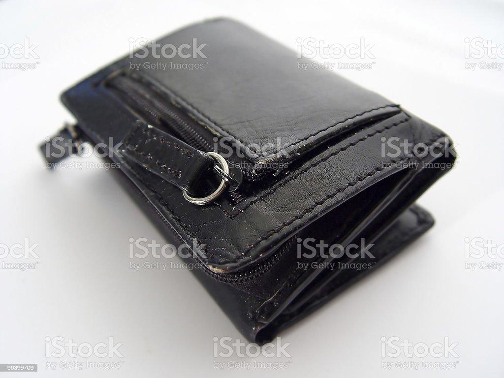 Money Wallet - Royalty-free Black Color Stock Photo