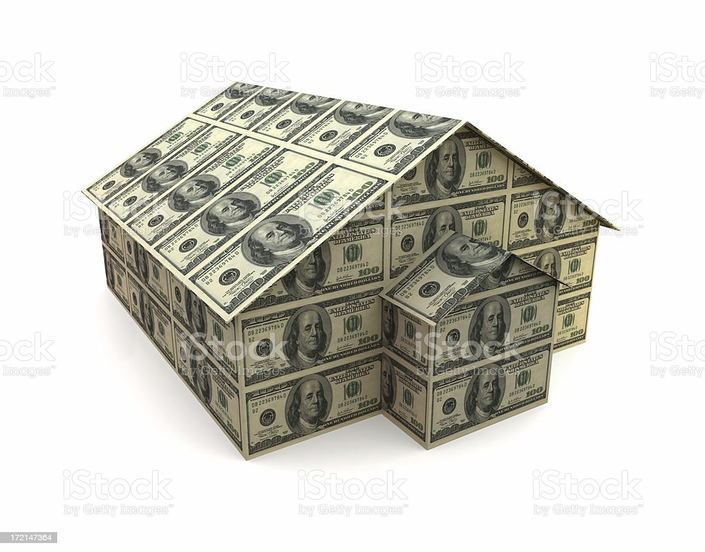 Money warehouse (XXL) royalty-free stock photo