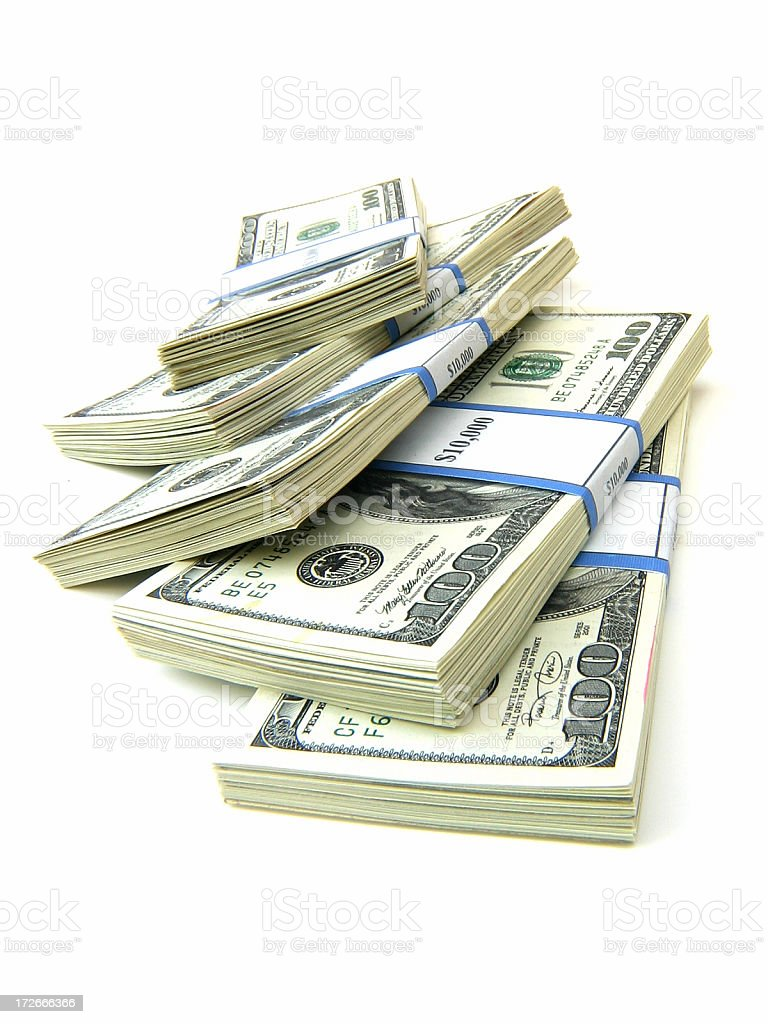 Money - Wide royalty-free stock photo