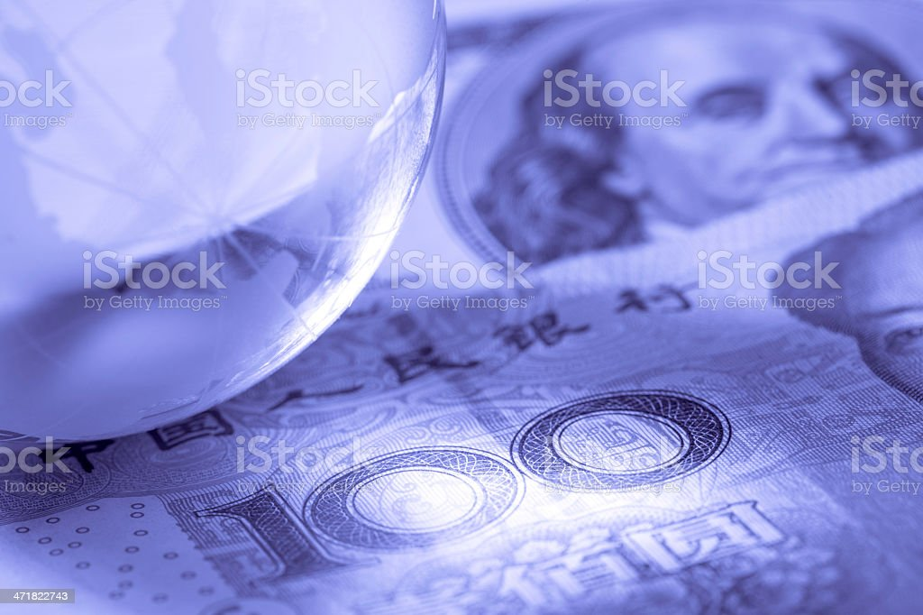 Money world royalty-free stock photo