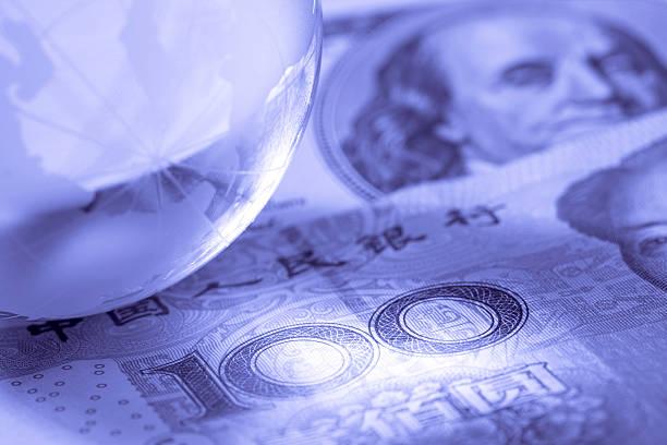 Money world stock photo