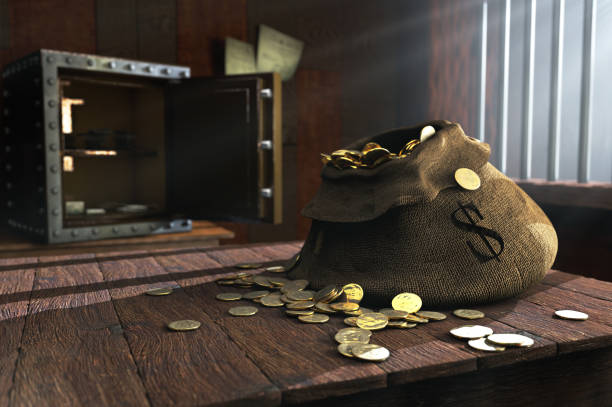 Moneybag stock photo
