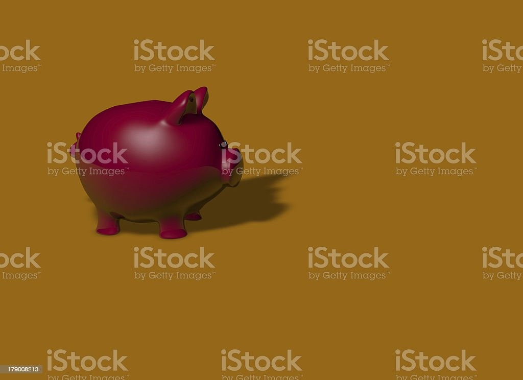 Moneybox royalty-free stock photo